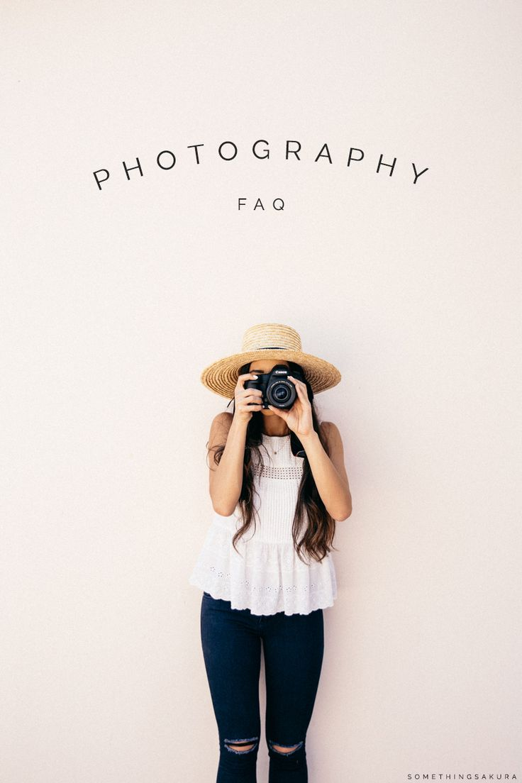 Something Sakura: Photography FAQ