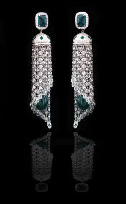 Waterfall earrings by Piranesi Fine Jewelry