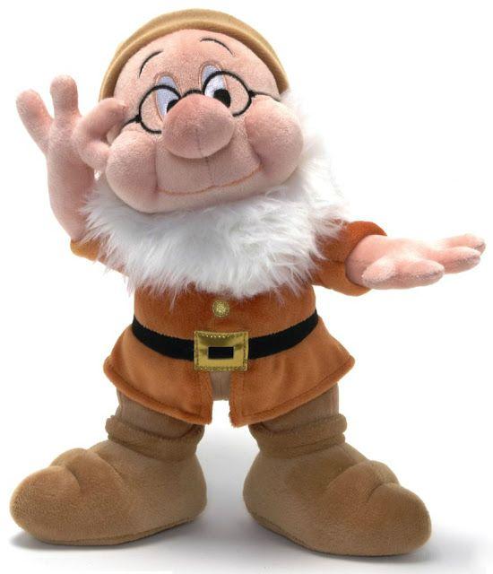 Filmic Light - Snow White Archive: 2012 Disney Store Plush Dwarfs + 2012-13 Snow