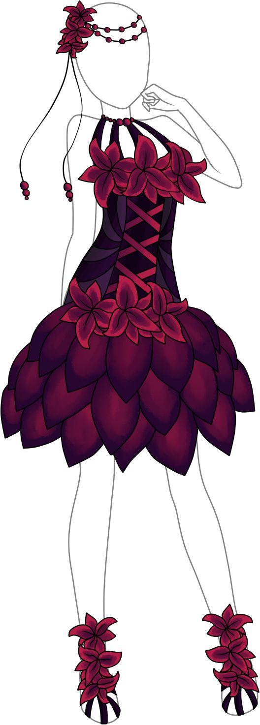 Dress Adoptable 11 - Open by Tropic-Sea.deviantart.com on @DeviantArt