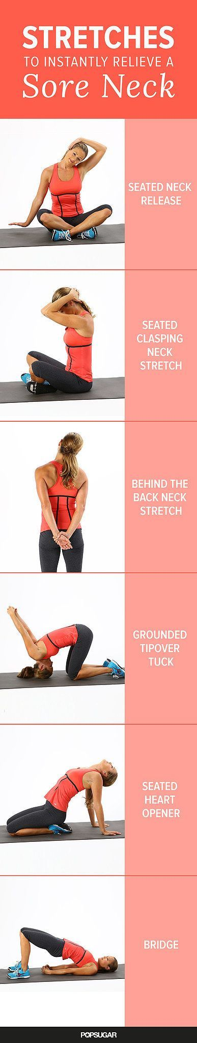 Instantly Relieve a Sore Neck With These Stretches