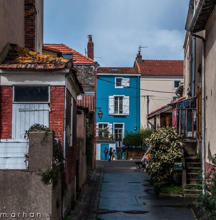 Trentemoult près de Nantes. Loire Atlantique mais bretonne historiquement.