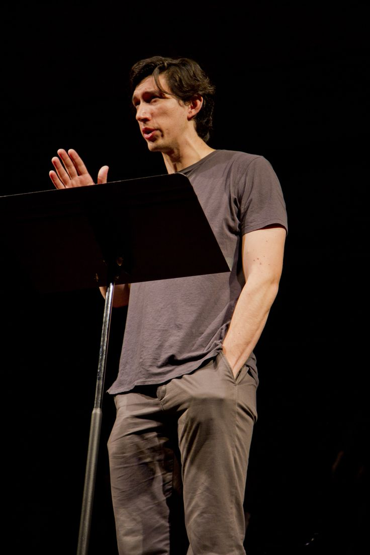 Adam Driver - love love love. Couldn't be happier he's part of the Star Wars-verse now.