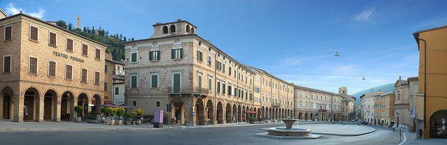 San Severino Marche (MC) - Piazza del Popolo - Marche - Italy