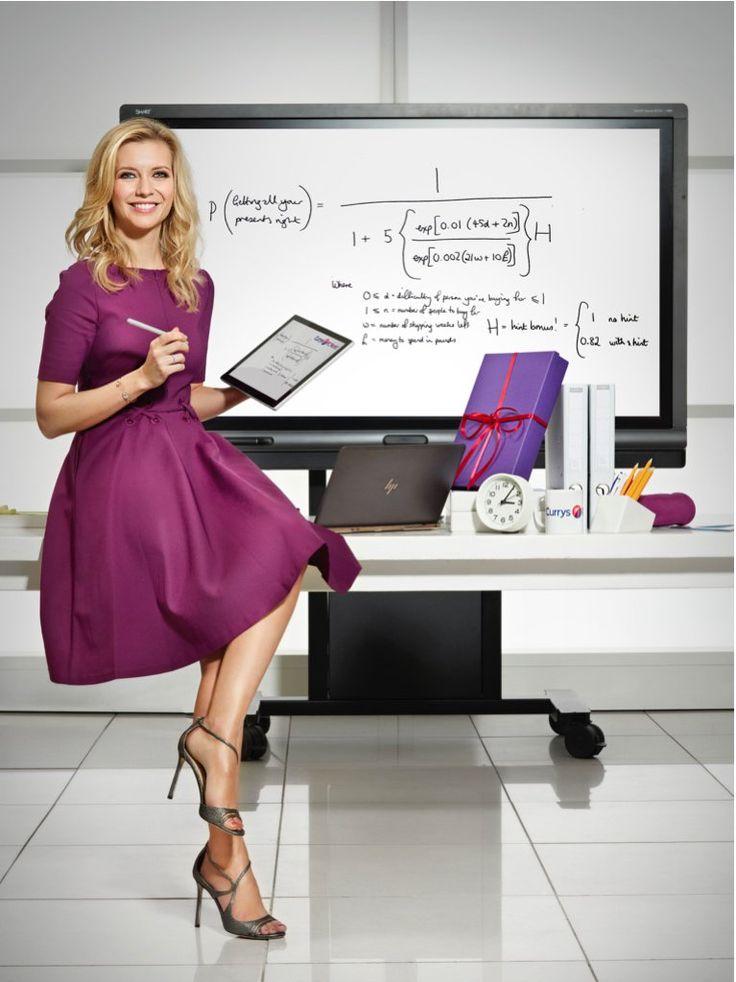 Rachel Riley - British Mathematician & Television Presenter.