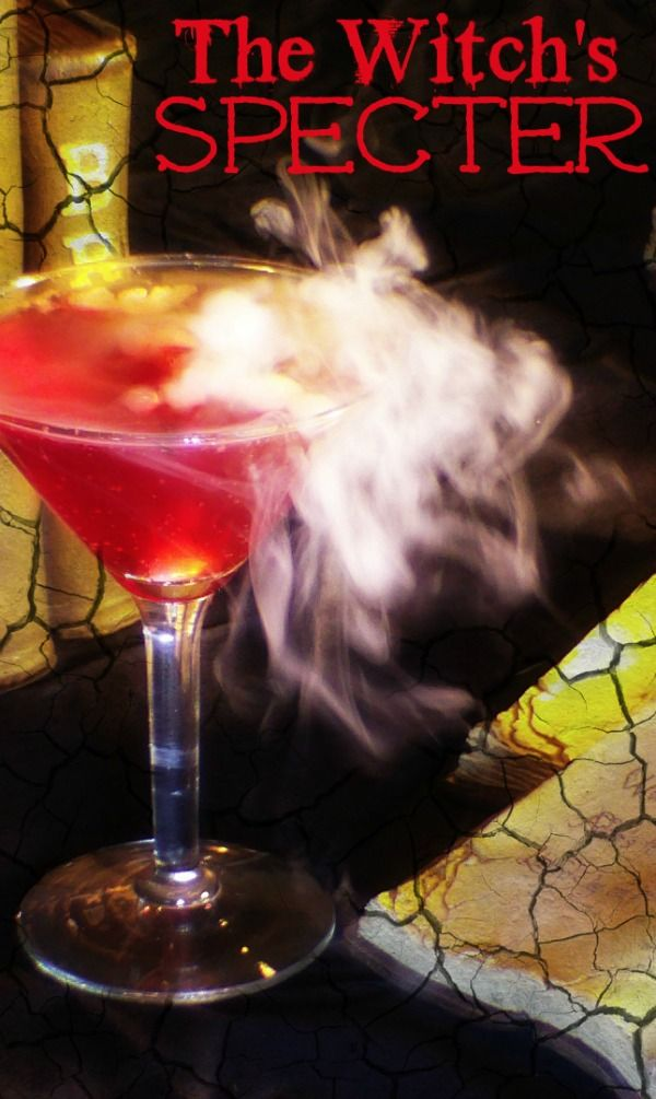 The Witch's Specter - A Spooky Non-Alcoholic Halloween Drink #cbias #shop #SpookyCelebration