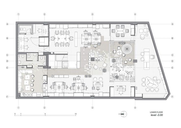 Prointel Offices,Floor Plan
