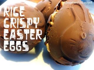 Rice crispy easter eggs | food | Pinterest