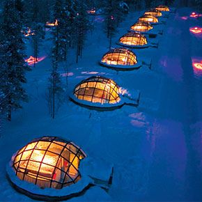 finland igloo hotel | Rent a see-through Igloo in Finland