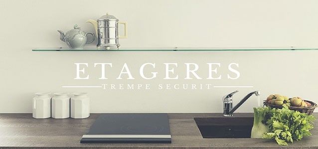 1000 images about tag res en verre sur mesure on pinterest consoles d an - Etagere en verre sur mesure castorama ...