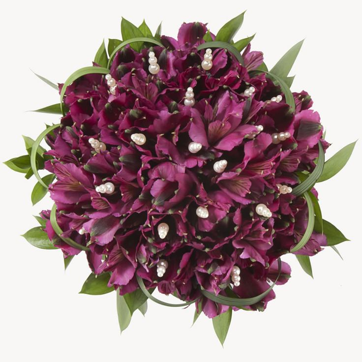 Wedding Flowers W Gorgeous Purple Peruvian Lilies Ideal For Budget Conscience Brides This Flower Set Includes A Boutonniere Bridal Bouquet