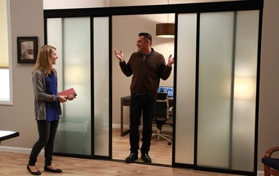 Create the perfect sliding doors for your office or home space with help from The Sliding Door Company! We offer innovative solutions and allow you to be creative with our products, with safety you can trust! #interiordesign #slidingdoors #roomdividers