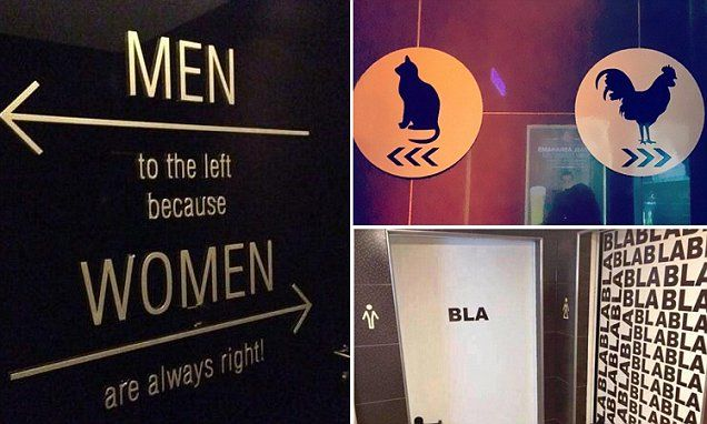 Best bathroom signs from around the world