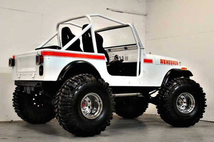 photograph by This 1980 Jeep CJ7 Renegade Restomod is the Business.