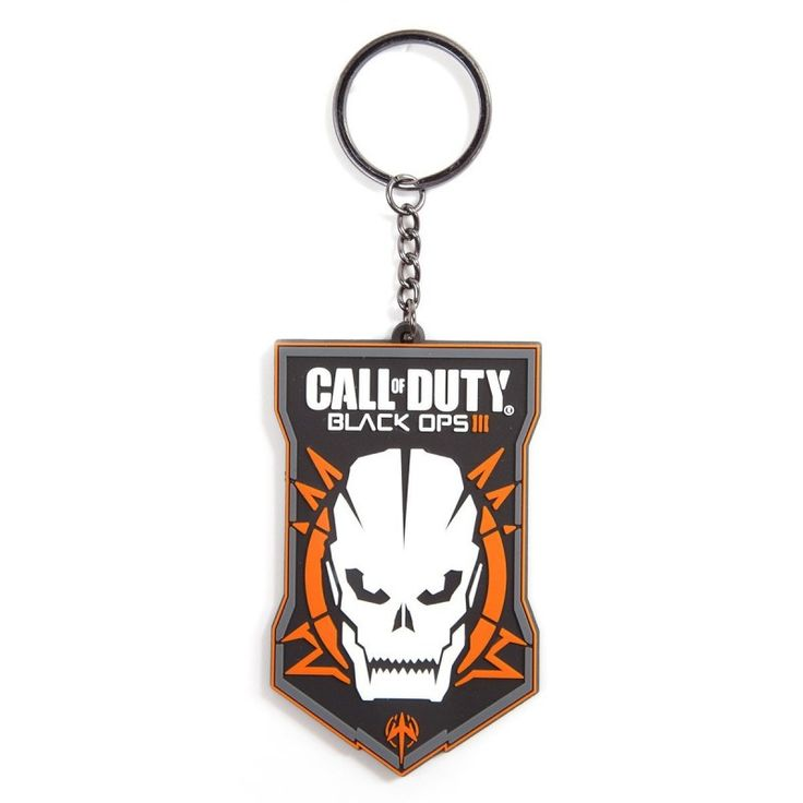 Call of Duty: Black Ops 3 - Rubber Keychain with Logo