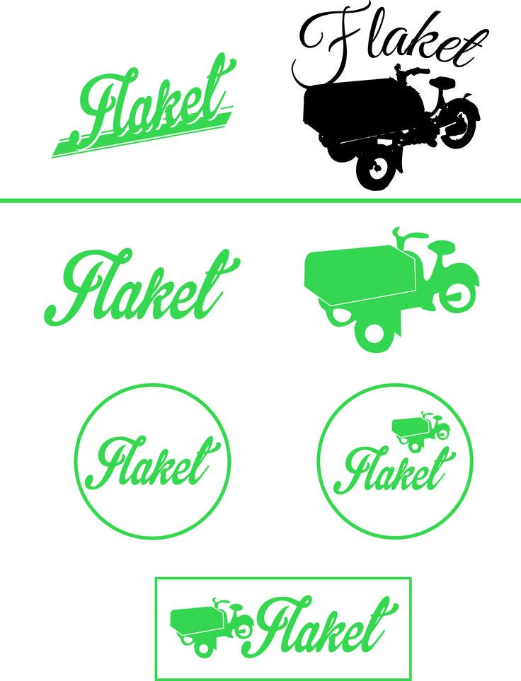 Tok utgangspunkt i de 2 logoene de har i dag. Jeg simplifiserte både teksten og mopeden, men beholdt grønnfargen. Kom med innspill:)