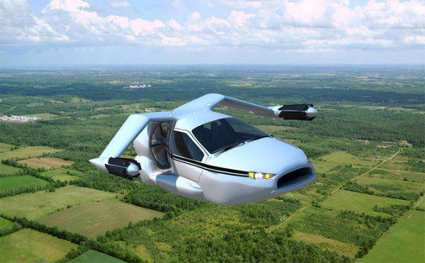 Terrafugia nos acerca al sueño del TF-X, el coche volador personal que vuela como un avión y aterriza como un helicóptero
