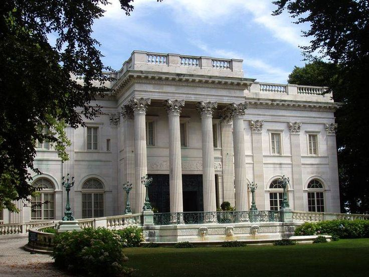 Marble House / Newport, RI: Beaux Art, Rhode Islands, Newport Mansions, Gild Age, Marbles House, Marble House, Newport Ri, Vanderbilt Marbles, Architecture