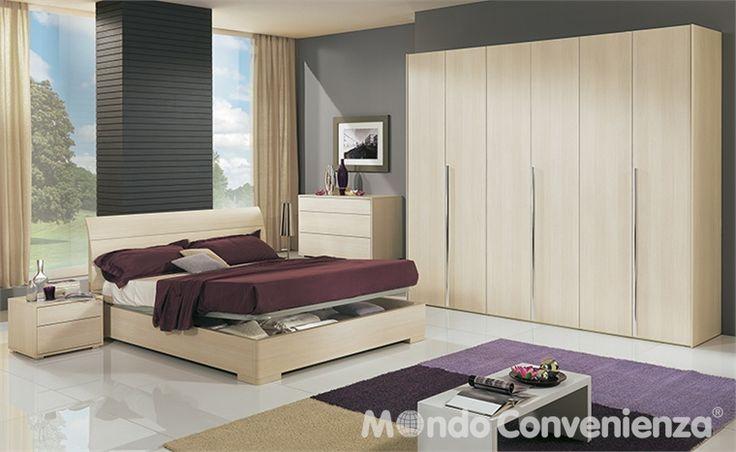 Camera da letto Buonanotte - Armadio 6 ante - Moderno - Mondo Convenienza - La nostra forza è il prezzo