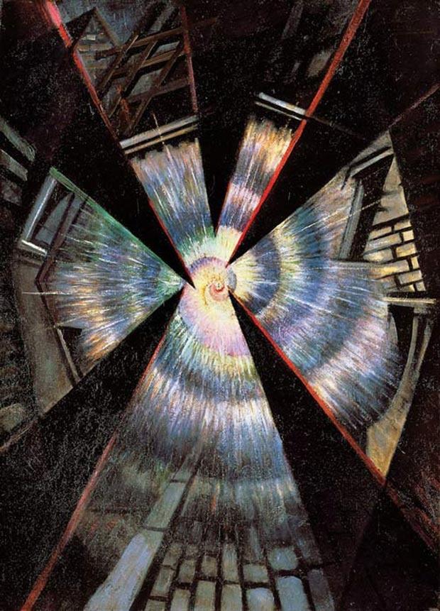 Bursting Shell, 1915 Christopher Richard Wynne Nevinson ...