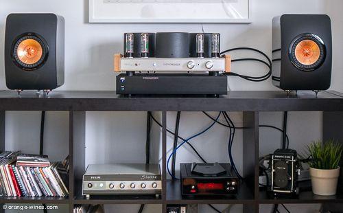 Tubes, KEF, Rega... High end audio audiophile