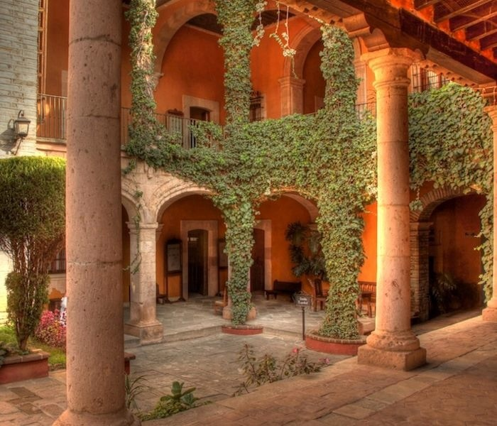 345 best images about m xico on pinterest maya mexico for Spanish hacienda style