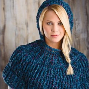 Dress It Up -- Cowl in the Wool Capelet
