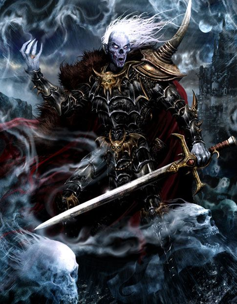 Vlad von Carstein was the first and greatest of the Vampire Counts of Sylvania. It was he who tainted the once human aristocracy of Sylvania with the curse of Undeath, and in so doing created an Undead kingdom in the heart of The Empire.