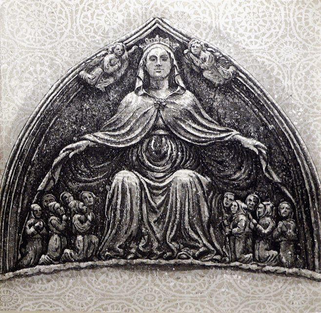 Shrine etching Artist Sandi Rigby