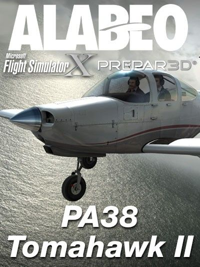 ALABEO : PA38 Tomahawk II Features:Full FSX, P3D v2, v3, v4, and Steam compatible. HD Textures Superb material shines and reflections. Volumetric side view prop effect. Dynamic propeller shines effect. High quality 3D model and textures. Blank texture for creating your own designs.  Requirements: Windows Vista -7 (32 or 64 bits) Microsoft Flight Simulator FSX with SP1 and SP2 (or Acceleration Pack) installed or Lockheed Martin - Prepar3D Flight Simulator v3 or v4 or FSX Steam Edition…