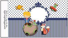 Festa de Aniversário do Pequeno Príncipe, com rótulos, convite, caixinhas... tudo gratuito para Imprimir.