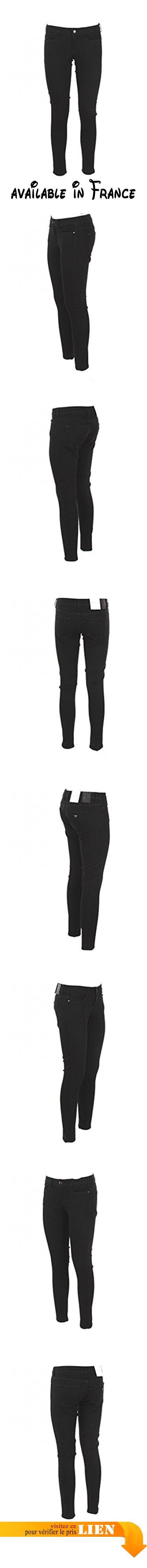 Guess Jeans 25 Noir W74a27 D2r80 Automne Hiver 2017/18.  #Apparel #PANTS