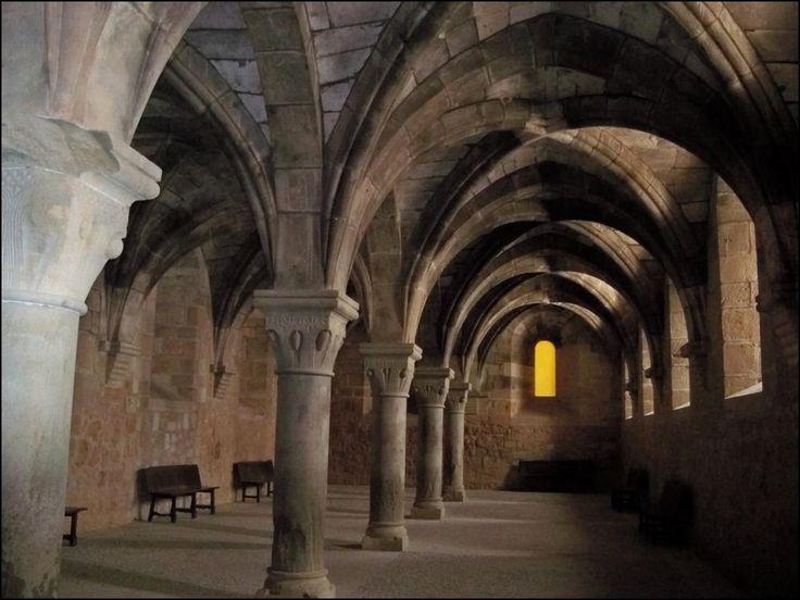 Refectorio de conversos. Foto: www.monasteriohuerta.org