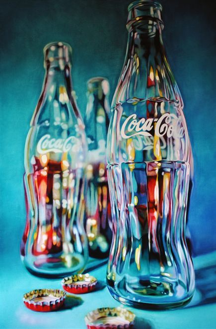 Kate Brinkworth (1977) | Tall Coke (2009) | oil on canvas, 135 x 90 cm