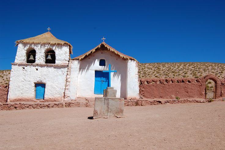 Church in Machuca Village, Atacama Desert Chile Eureka Travel #SouthAmerica