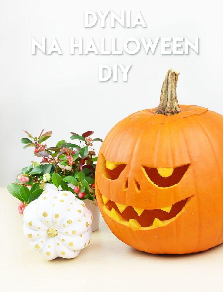 Jak zrobić dynię na Halloween? Krok po kroku + szablon do pobrania