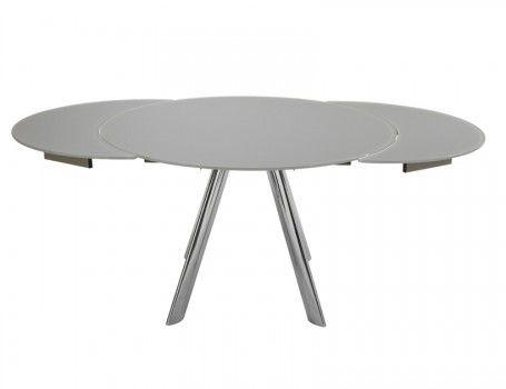 explore table ronde avec rallonge