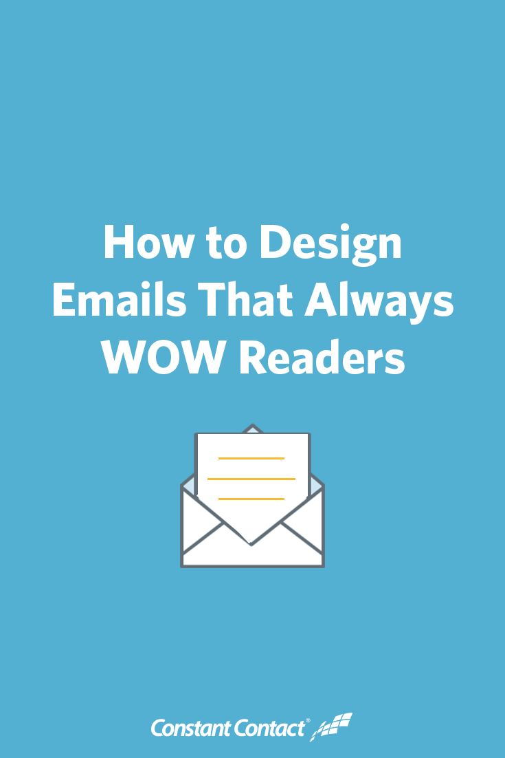While nonprofit marketers spend a lot of time crafting great email content, it is just as important to give thought to those email's designs. Here are 6 design tips to help you craft great looking emails that wow readers.: