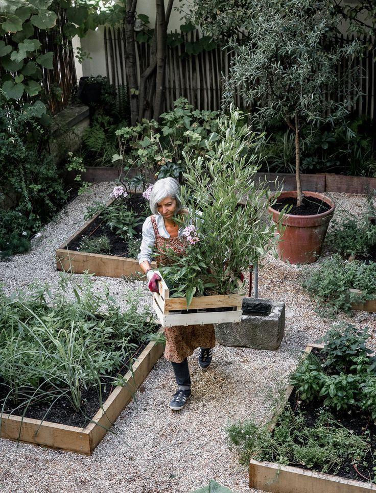 Raised Beds With Gravel Between Vegetable Garden Design