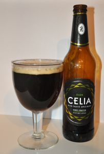 Geproefd – #Žatec #Celia Dark 5.7% #Glutenvrij #Bier