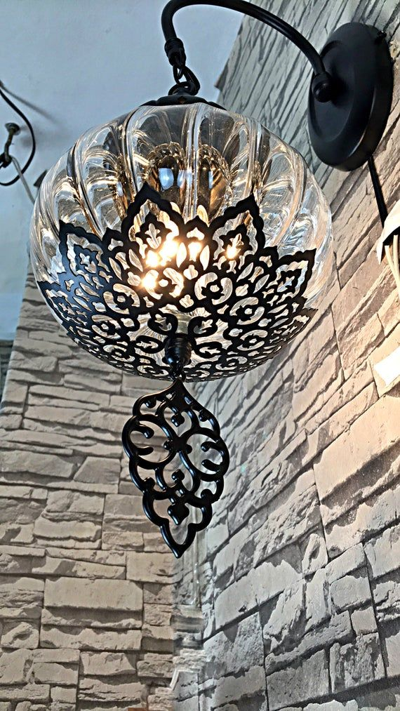 This Is A Hard Wired Lamp But We Can Make A Plug In Option Too It Takes A Week To Make This Lamp But I Have Turkish Lights Moroccan Lanterns Moroccan