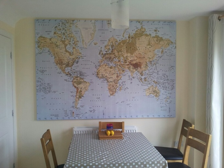 Ikea world map in kitchen ikea Pinterest World World maps and Maps
