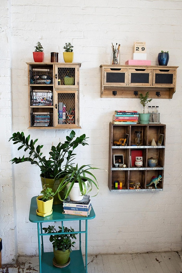 I think its good!: Little Boxes, Wall Storage, Wood Storage, Small Storage, Wood Shelves, Storage United, Storage Ideas, Alex O'Loughlin, Urban Outfitters Home