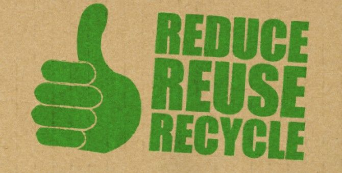 Tips on 3Rs - Reduce, Reuse, Recycle at Home