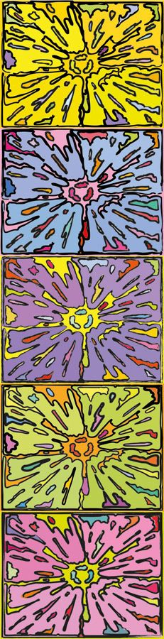 Peter Halley, 'Cartoon Explosion', 2009