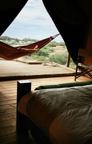 Sal Salis, Ningaloo Reef - The hammock view