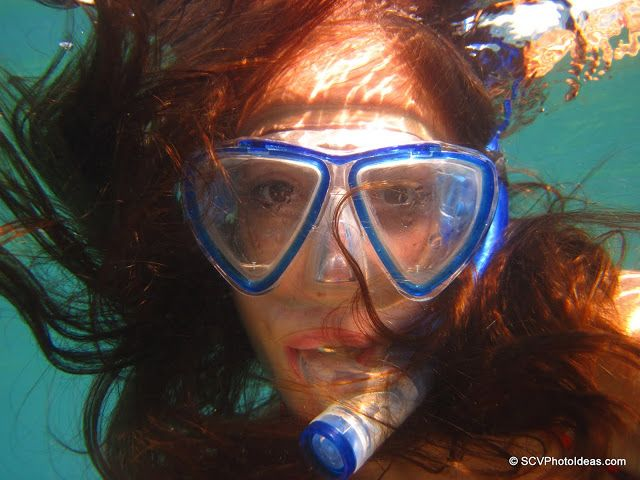 An underwater portrait of my little mermaid with Canon Powershot D10  #underwater #powershotD10 #mermaid