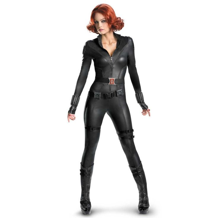 Agility, strength, endurance, and stamina: it's all wrapped up in a bodysuit that's built to kill: The Avengers Black Widow Elite Costume   #Avengers #Costume #BlackWidow #Sexy