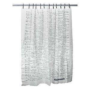 Word Power Shower Curtain » Curbly   DIY Design Community