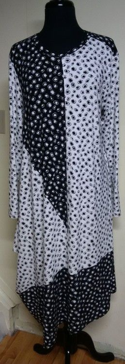 Memphis Dress from Sewing Workshop in Rayon Spandex Jersey Prints